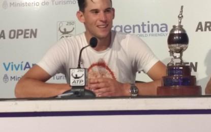 Dominic Thiem volvió a consagrarse en el ATP de Buenos Aires
