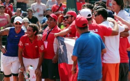 Copa Davis : Chile será rival de Argentina en los cuartos de final de la Zona Americana 1