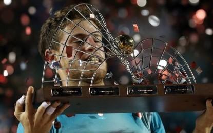 Diego Schwartzman se consagró campeón del ATP 500 de Río.