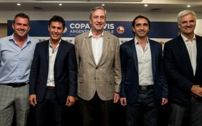 Copa Davis: Argentina se medirá ante Chile en San Juan