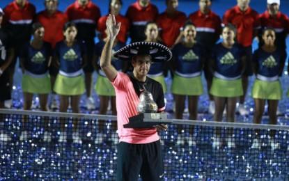 Del Potro se consagra en el Abierto Mexicano