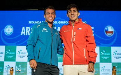 Copa Davis: Kicker y Jarry abrirán la serie Argentina-Chile