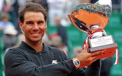 Rafael Nadal se consagró por undécima vez en Montecarlo