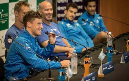 """Diego Schwartzman: """"Esperamos una gran serie de Copa Davis"""""""