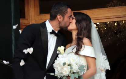 Marin Cilic se casó con Kristina Milkovic