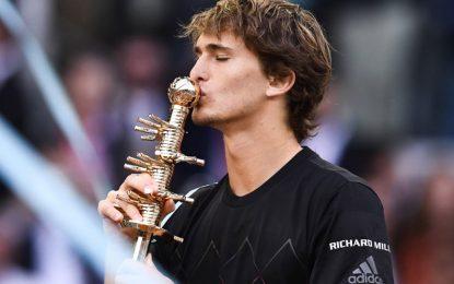 Alexander Sverev se consagró en el Masters 1000 de Madrid