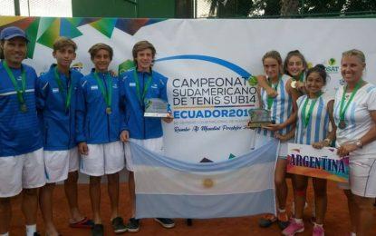 Sub 14: Las chicas campeonas y los chicos Sub campeones en el Sudamericano en Guayaquil