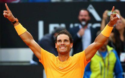 Rafael Nadal campeón en Roma