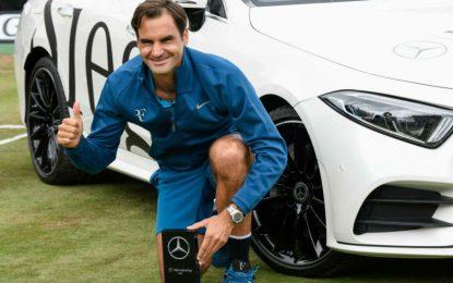 Federer ganó el ATP de Stuttgart