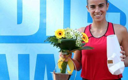 Paula Ormaechea se consagró en Hungría