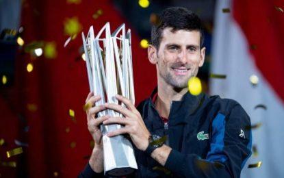 Novak Djokovic campeón en Shangai