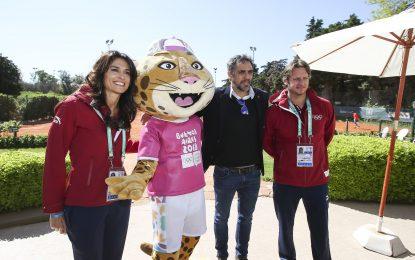 Sabatini y Nalbandian presentaron el tenis olímpico y se sortearon los cuadros