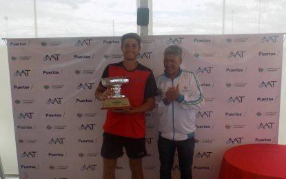 Santiago Rodriguez Taverna campeón de la Copa Escobar 2018