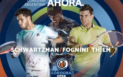 Siete tenistas del Top 50 jugarán el Córdoba Open 2019