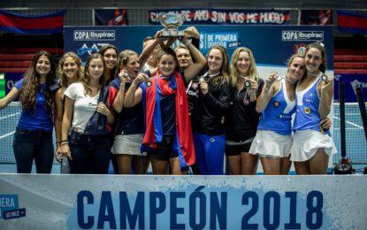 San Lorenzo retuvo el título de damas en el Interclubles  AAT de primera division