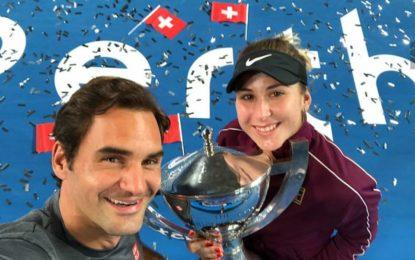 Copa Hopman : Federer y Bencic nuevamente campeones