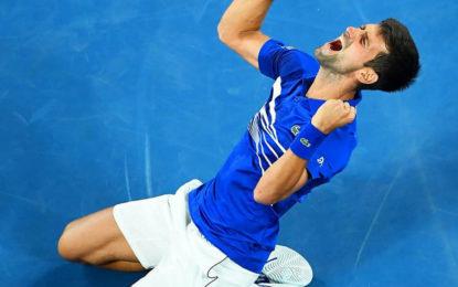 El número uno, Novak Djokovic se consagró en el Abierto de Australia