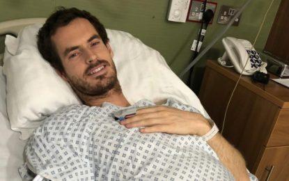 Operaron exitosamente de la cadera a Andy Murray en Londres