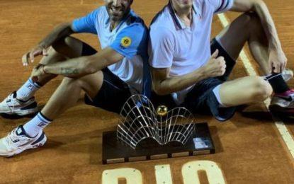 Rio Open: Machi Gonzalez y Nico Jarry campeones en dobles