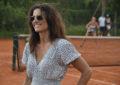 Gabriela Sabatini visitó al equipo argentino de Fed Cup antes de su partida