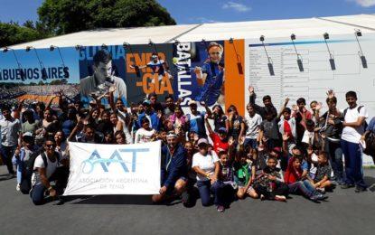 Los Alumnos del Programa Tenis Inclusivo que llega a su 7º año consecutivo, visitaron el Argentina Open