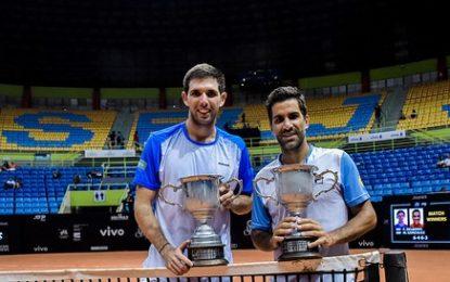 Brasil Open : Federico Delbonis y Machi Gonzalez campeones en dobles