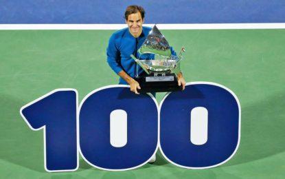 Histórico triunfo de Federer en Dubai