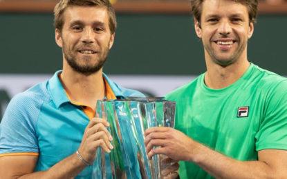Indian Wells: Horacio Zeballos y el croata Nicola Metkic campeones en Dobles