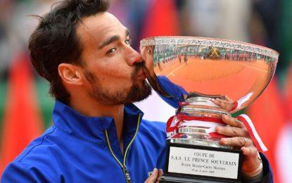 Fabio Fognini se consagró campeón en Montecarlo