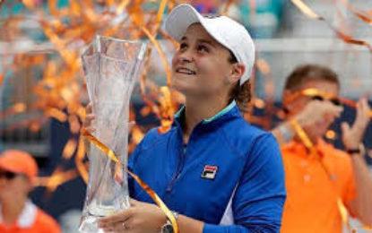 Ashleigh Barty se consagra en el Miami Open