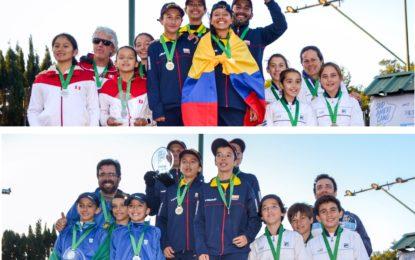Colombia fue la gran ganadora del Sudamericano Sub 12 y Argentina se subió al podio en varones y mujeres