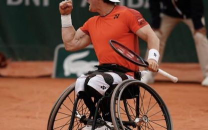 Roland Garros : Gusti Fernandez imparable, campeón en Singles y en Dobles