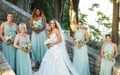 Se casaron Caroline Wozniacki y David Lee.