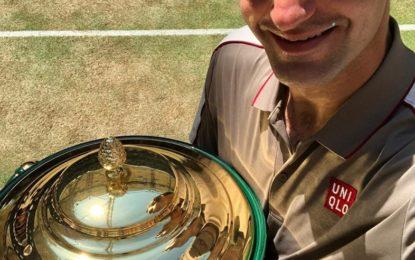 Federer se coronó campeón del ATP 500 de Halle