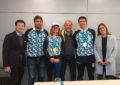 Regreso triunfal a la Argentina de Nadia Podoroska, Facundo Bagnis y Eduardo Schwank