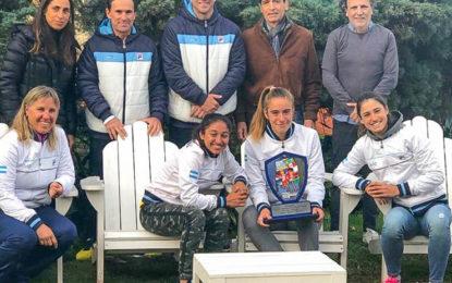 Volvieron las campeonas del Sudamericano Sub16 y fueron recibidas por la AAT