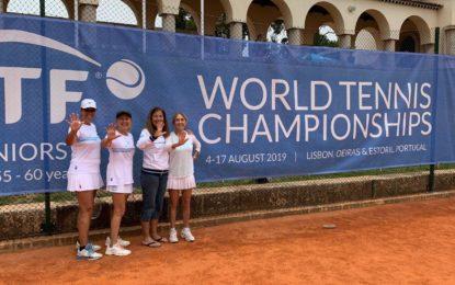 Mundial Seniors Portugal 2019: Argentina finalizó 5ta en la categoría W+60