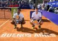 El indio Sumit Nagal se consagró campeón del Challenger de Buenos Aires y en Dobles los argentinos Andreozzi y Molteni