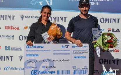 Lourdes Carlé y Gonzalo Villanueva, campeones de la Copa SportClub