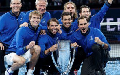 Laver Cup : El equipo Europa se consagró campeón