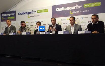 Se realizó la conferencia de prensa del Lanzamiento del Challenger de Buenos Aires