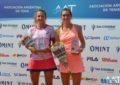 Guillermina Naya, campeona del W15 Buenos Aires 1 Copa SportClub