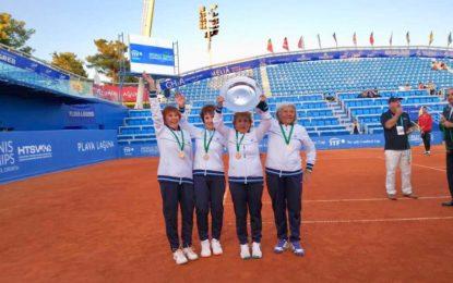 Mundial Súper Seniors 2019: Argentina campeona en W+80