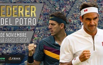 Se viene Federer – Del Potro en Parque Roca