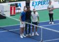 Roger Federer deslumbró a sus fans en el Arena Parque Roca