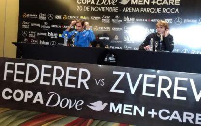 Conferencia de Prensa de  Federer y Zverev en el Hotel Hilton