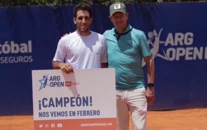 Casanova ganó el Argentina Open Pre-Qualy