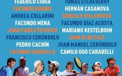 Lista confirmada para el Argentina Open Pre-Tournament