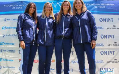 Fed Cup : La selección Argentina de Tenis se entrenó en Buenos Aires y viajó a San Luis