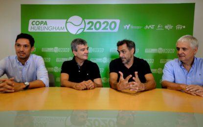 Mariano Zabaleta y Martín Vassallo Argüello presentaron la Copa Hurlingham de Tenis junto a Juan Zabaleta